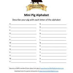 Mini Pig Alphabet-page-001