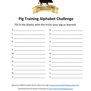 Pig Training Alphabet Challenge (blank)-page-001