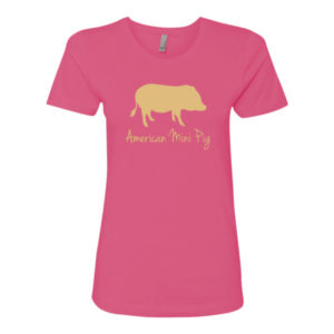 Gold Pig Women's t-shirt
