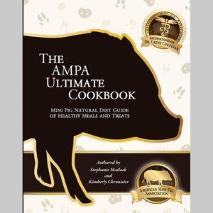 ampa cookbook, mini pig cookbook, mini pig treats