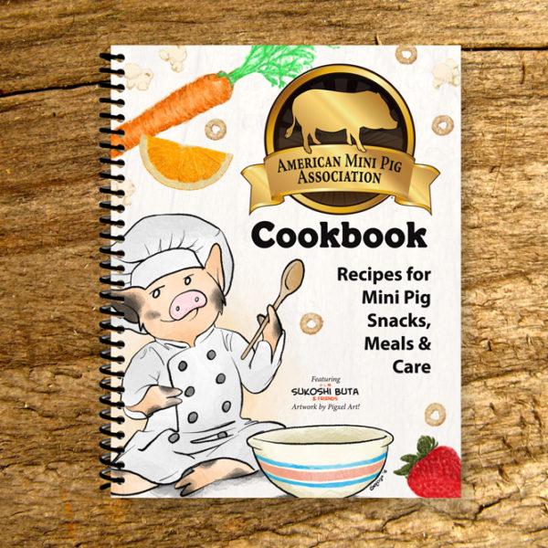 mini pig cookbook, ampa cookbook