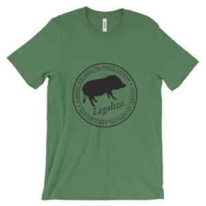 Legalize Unisex short sleeve t-shirt