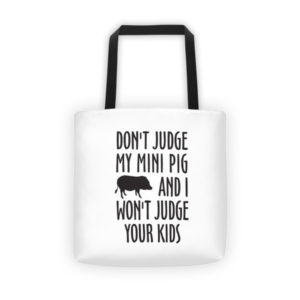 Don't Judge Me Tote bag