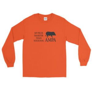 My Pig is Smarter Long Sleeve T-Shirt