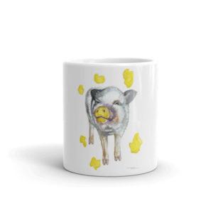 Painting Pig Fundraising Mug