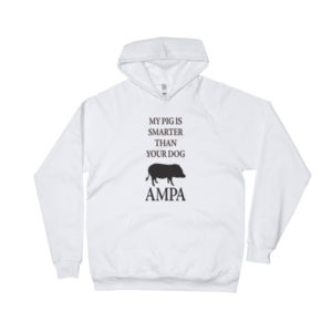 My Pig is Smarter Fitted Hoodie