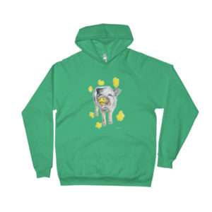 Painting Pig Rescue Fundraiser Hoodie
