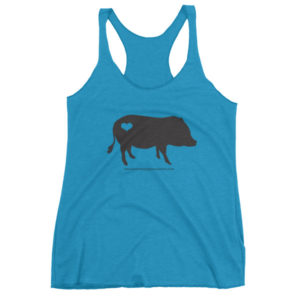 Black AMPA Pig Women's tank top