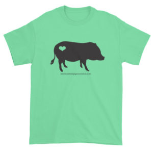 Black AMPA Pig Short sleeve t-shirt