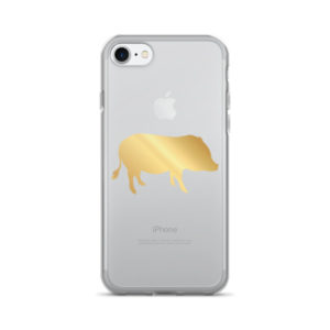 Gold Pig iPhone 7/7 Plus Case