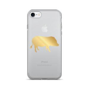 Gold Pig iPhone 7/7 Plus Case