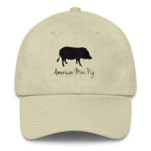 American Mini Pig Cotton Cap