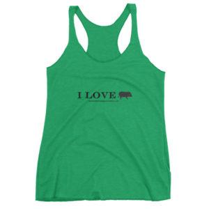 I Love Women's tank top