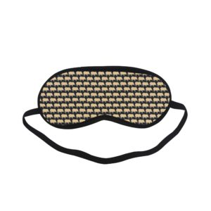 Gold Pig Black Sleeping Mask Sleeping Mask