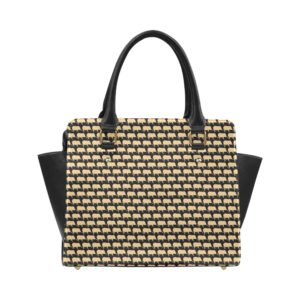 Gold Pig Classic Shoulder Handbag