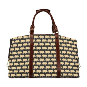 Gold Pig Flight Bag