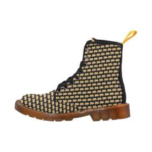 Gold Pig Martens Women's Combat Boots