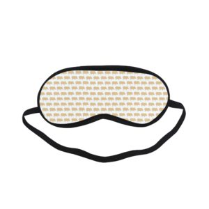 Gold Pig White Sleeping Mask Sleeping Mask