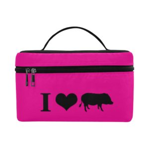 I Heart Pigs Lunch Box Isothermic Bag