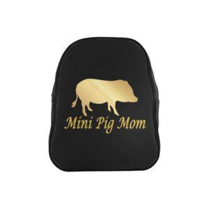 Mini Pig Mom Backpack