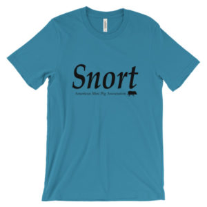 Snort Unisex short sleeve t-shirt