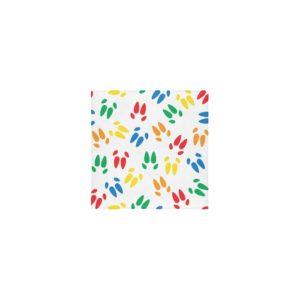"Colored hoof print towel Custom Towel 13""x13"""