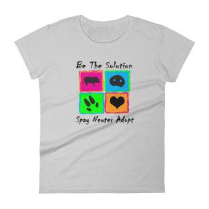 Be the Solution Women's short sleeve t-shirt