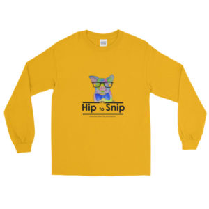 It's Hip to Snip Long Sleeve T-Shirt