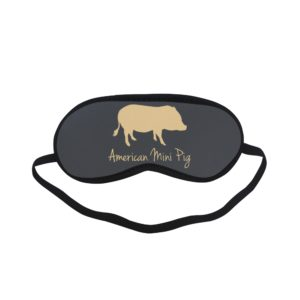 American Mini Pig Sleeping Mask MORE COLORS