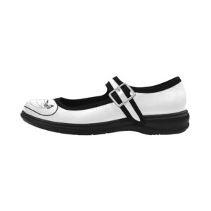 Butterfly Pig 5 Virgo Mary Jane Women's Flat (Model808)
