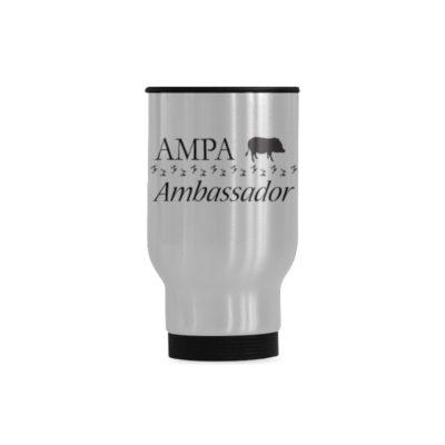 ambassador Travel Mug(Sliver) (14 Oz)