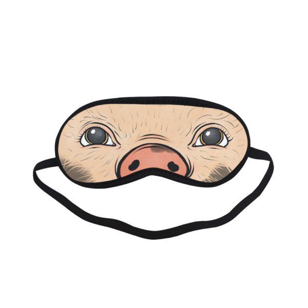 mini pig eye mask