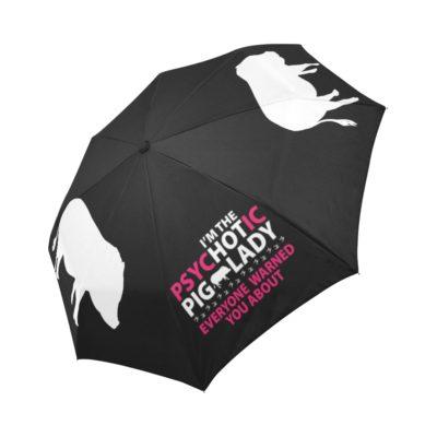 HOT Pig Lady Automatic Foldable Umbrella MORE COLORS
