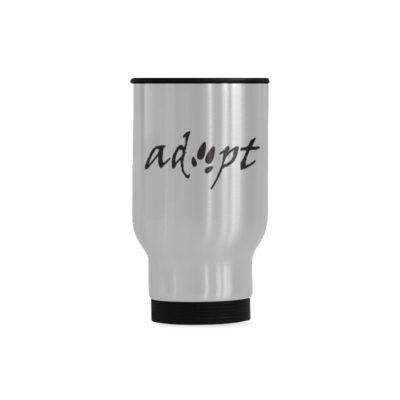 ADOPT Travel Mug(Sliver) (14 Oz)