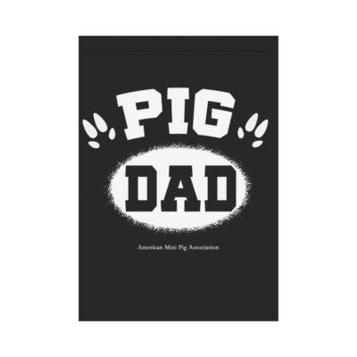 "Pig Dad hoof House Flag 28"" x 40"""