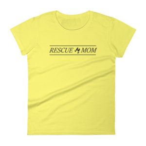 Rescue Mom Women's short sleeve t-shirt