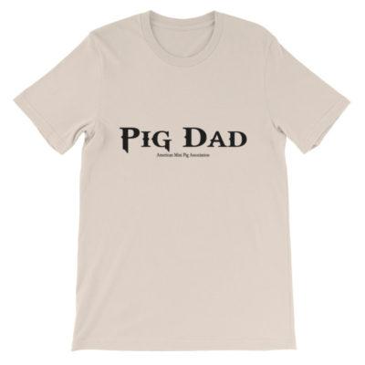 Pig Dad Gothic Unisex short sleeve t-shirt