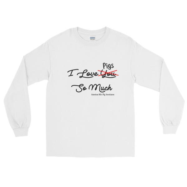 Amo Maiali Manica Lunga T-shirt 9Hyi40rT
