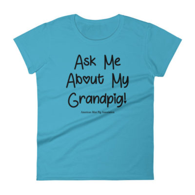Ask Me About My Grandpig Women's short sleeve t-shirt