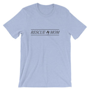 Rescue Mom Unisex short sleeve t-shirt