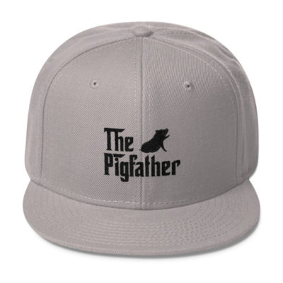 The Pigfather Wool Blend Snapback