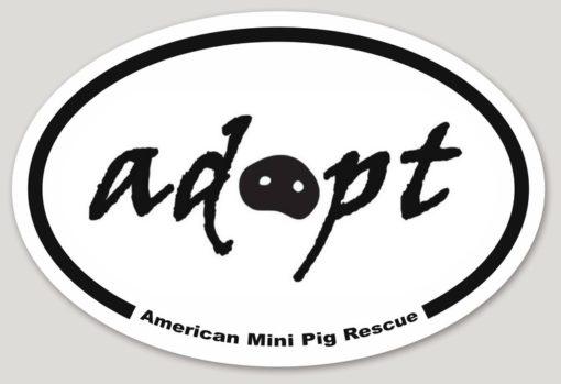 adopt decal sticker
