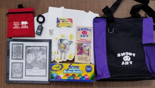 snout art training kit