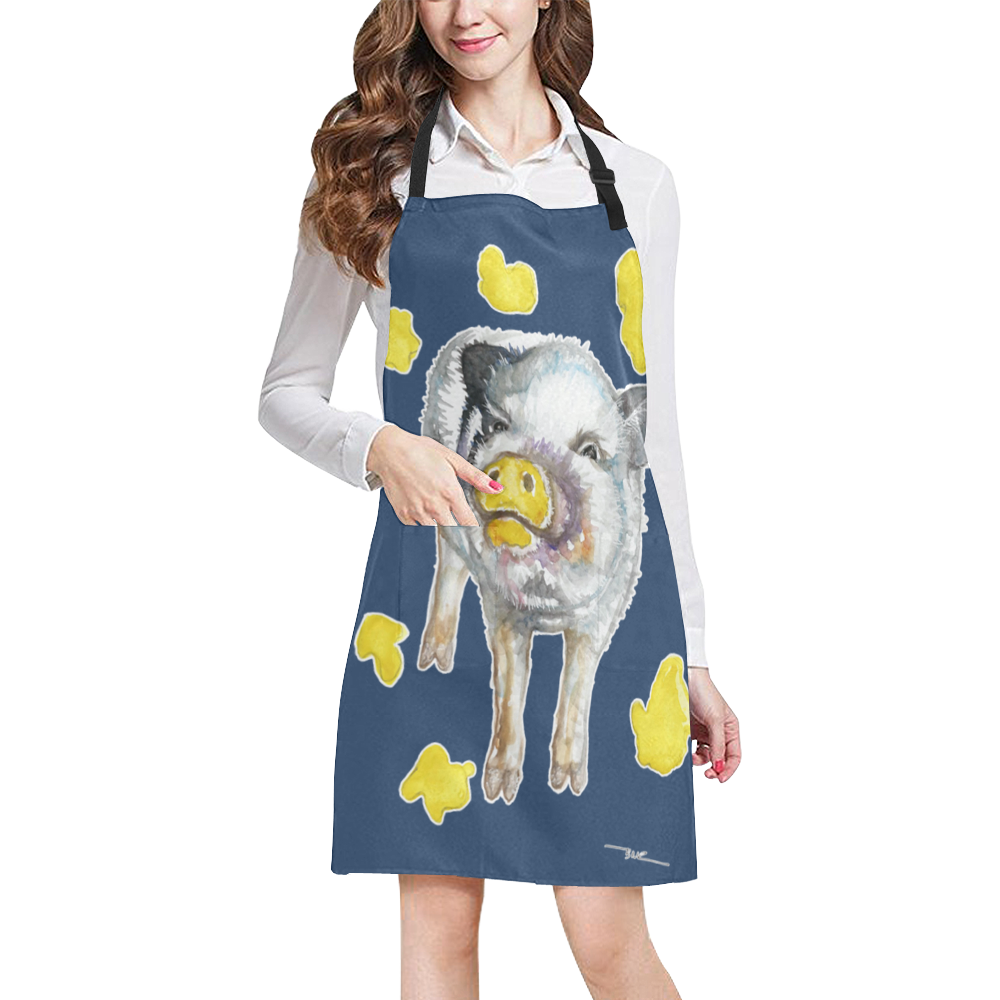 Snout Art Petunia The Painting Pig Apron More Colors American