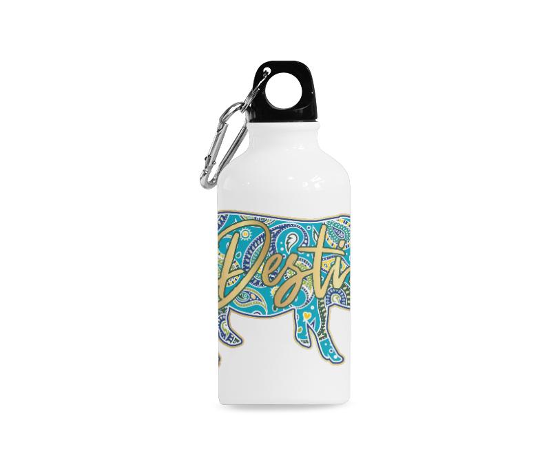 Full-Color-Destin Water Bottle Sports Bottle (13.5 Oz)